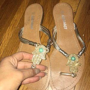 Beautiful sandals/flip flops size 37